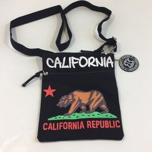 NWOT California Republic crossbody bag